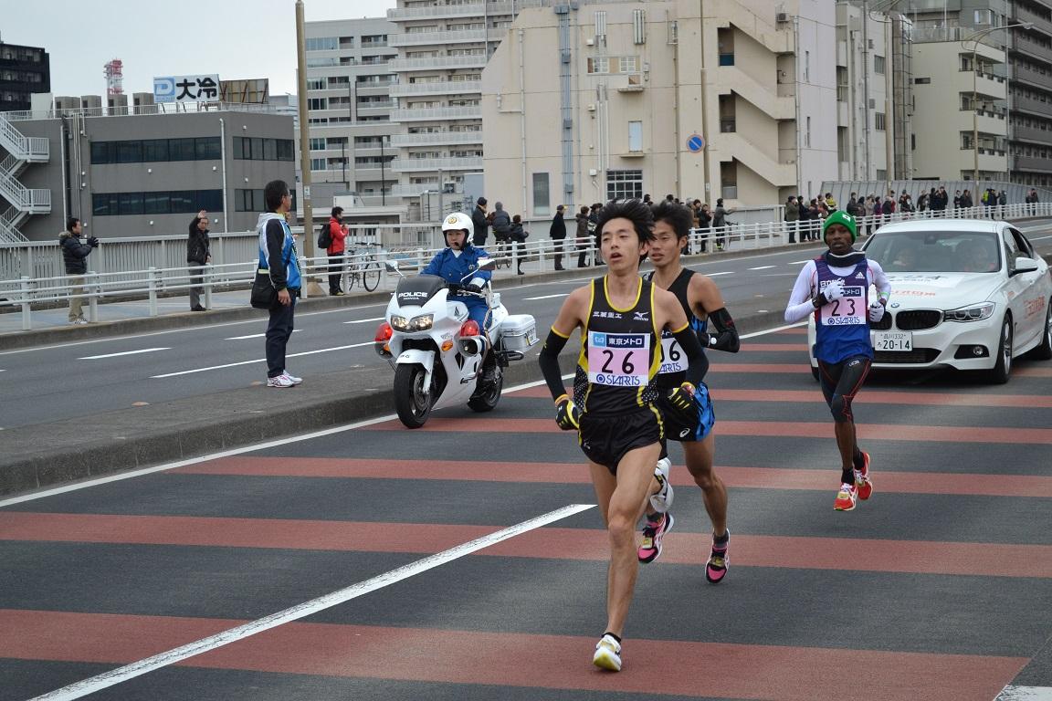 2015東京マラソン: 中島けんじ中央区議会議員